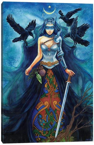 Morrigan Canvas Art Print