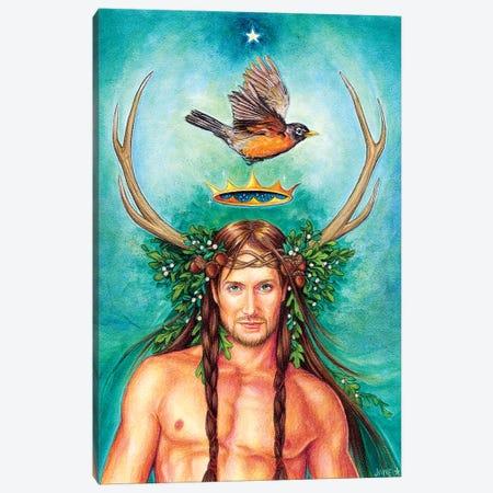 Oak King Canvas Print #JNW46} by Jane Starr Weils Canvas Art Print