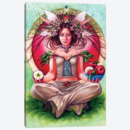 Apple Tree Fae Canvas Print #JNW4} by Jane Starr Weils Canvas Art