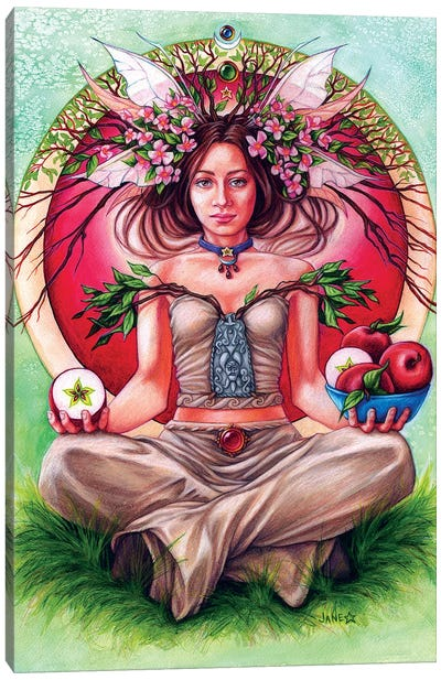 Apple Tree Fae Canvas Art Print
