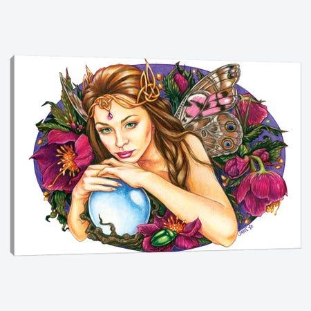 Twilight Garden Canvas Print #JNW60} by Jane Starr Weils Canvas Wall Art