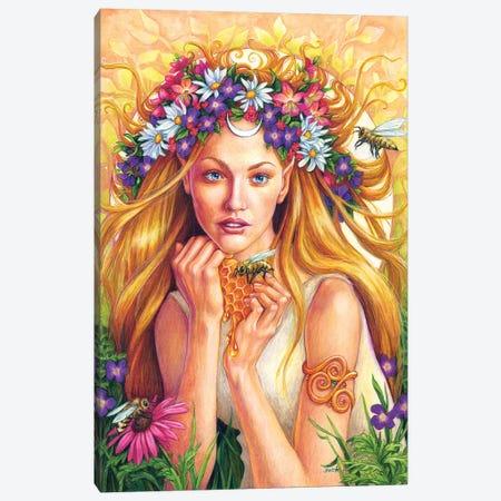 Wild-Honey Canvas Print #JNW64} by Jane Starr Weils Art Print