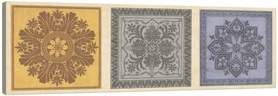 Classical Tiles II Canvas Art Print