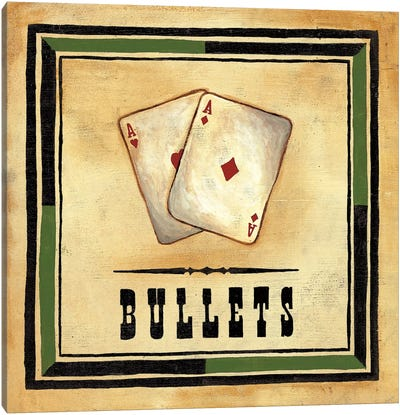Bullets Canvas Art Print