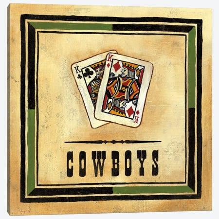 Cowboys Canvas Print #JOA2} by Jocelyne Anderson Canvas Print