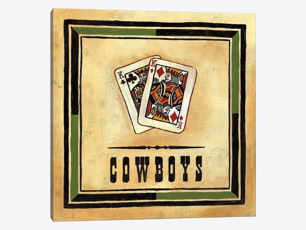 Cowboys by Jocelyne Anderson 1-piece Canvas Print