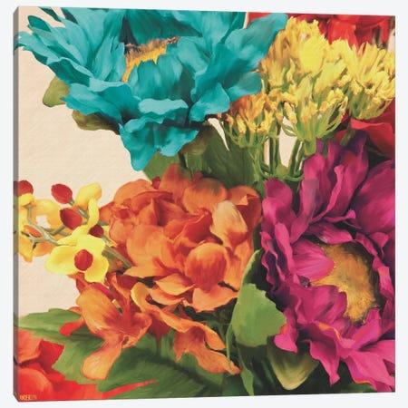 Pop Art Flowers I Canvas Print #JOA4} by Jocelyne Anderson Canvas Art