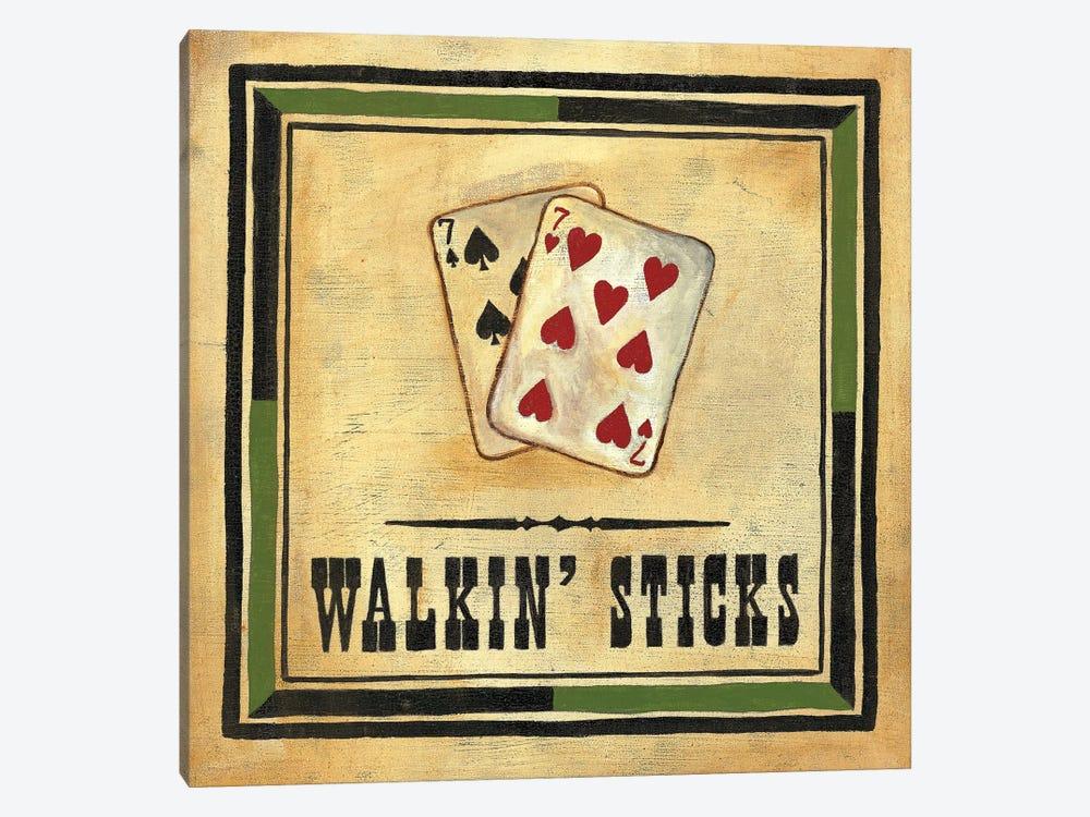 Walkin' Sticks by Jocelyne Anderson 1-piece Art Print