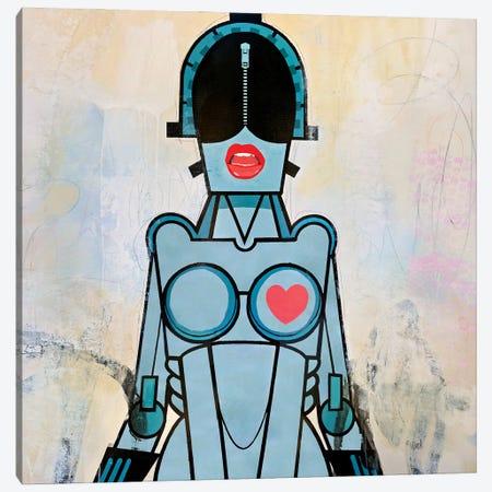 Hot Bot Canvas Print #JOD16} by Francis Ward Canvas Wall Art