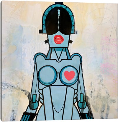 Hot Bot Canvas Art Print