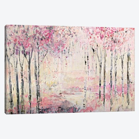 Pink Park Canvas Print #JOD19} by Jodi Maas Canvas Art Print