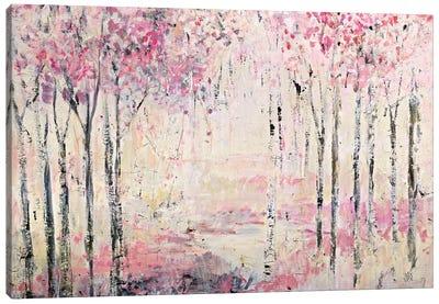 Pink Park Canvas Art Print