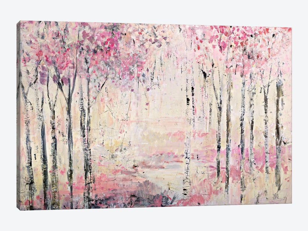 Pink Park by Jodi Maas 1-piece Art Print