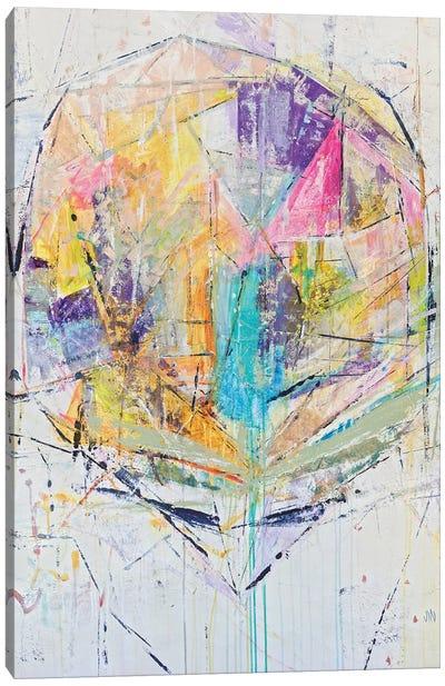 Crystal Cone Canvas Art Print