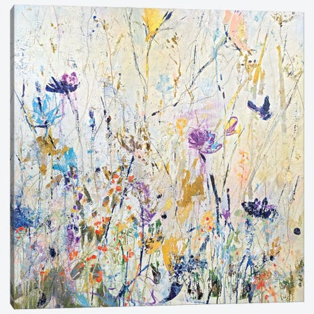 Summer Seeds Canvas Print #JOD23} by Jodi Maas Canvas Wall Art