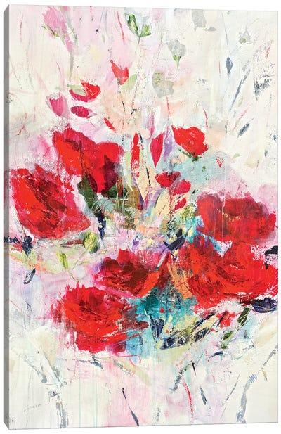 Lucious Reds Canvas Art Print