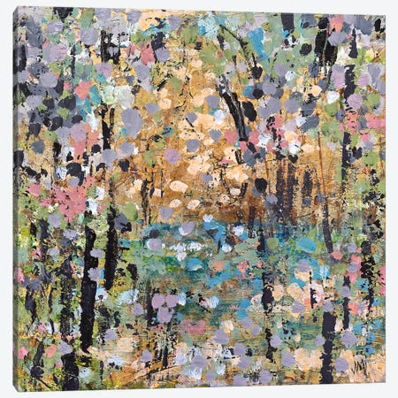 Floral Mist Path Canvas Print #JOD26} by Jodi Maas Canvas Art Print