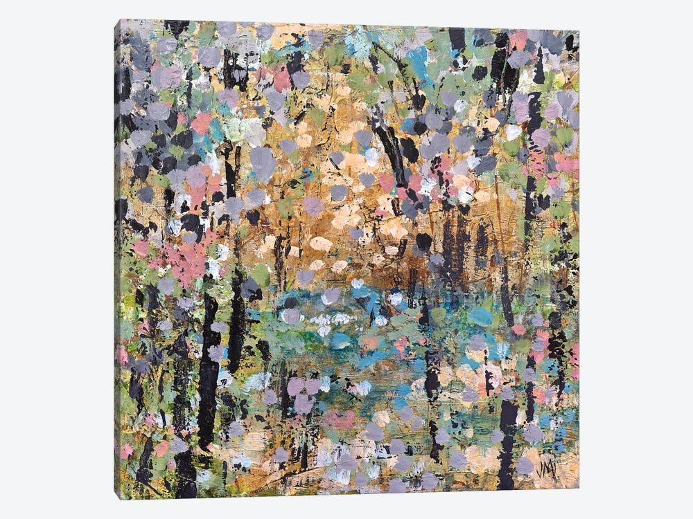 Floral Mist Path by Jodi Maas 1-piece Canvas Art Print