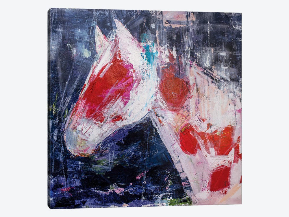 Coy Colt by Jodi Maas 1-piece Canvas Artwork