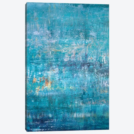 Aqua Cove Canvas Print #JOD32} by Jodi Maas Canvas Art Print