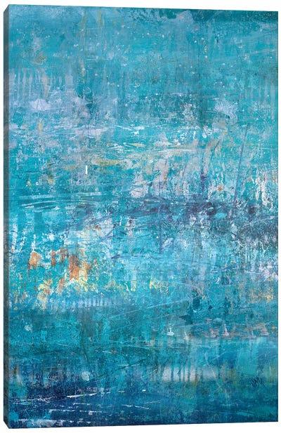 Aqua Cove Canvas Art Print
