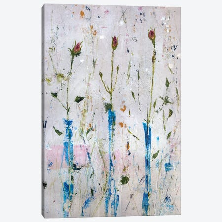Three Buds Canvas Print #JOD35} by Jodi Maas Canvas Wall Art