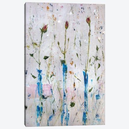 Three Buds Canvas Print #JOD35} by Jodi Maas Canvas Wall Art