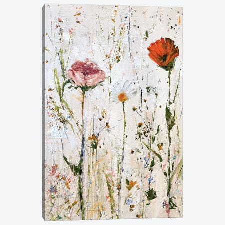 Three Flowers Canvas Print #JOD36} by Jodi Maas Canvas Art