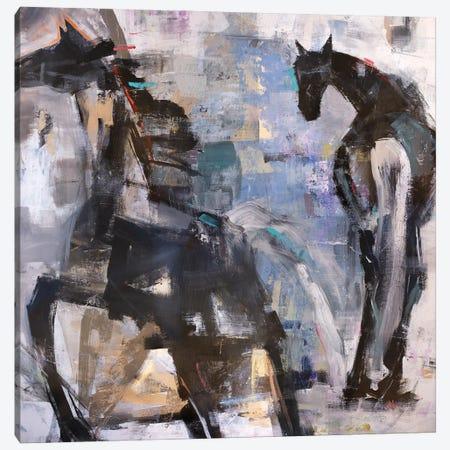 Telltale Tails Canvas Print #JOD38} by Jodi Maas Art Print