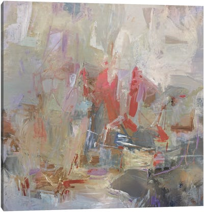 Brief Kiss Canvas Art Print