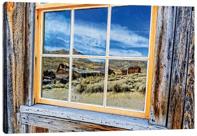 USA, Bodie, California. Mining town, Bodie California State Park I Canvas Art Print