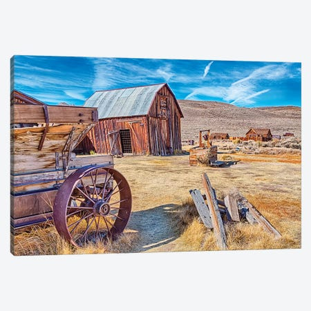 USA, Bodie, California. Mining town, Bodie California State Park II Canvas Print #JOE12} by Joe Restuccia III Canvas Wall Art