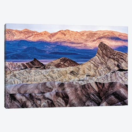 USA, California. Death Valley National Park, Zabriskie Point Canvas Print #JOE13} by Joe Restuccia III Canvas Artwork