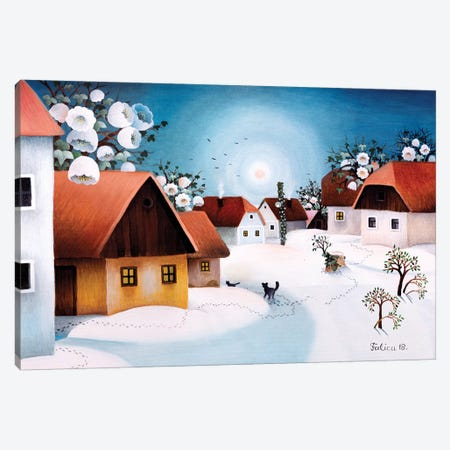 Spring Is Here Canvas Print #JOF16} by Josip Falica Canvas Artwork