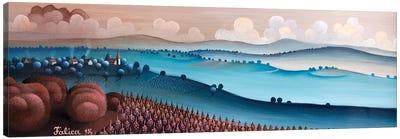 Wide Landscape Canvas Art Print