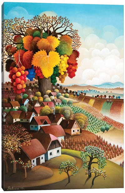 Great Vine Canvas Art Print
