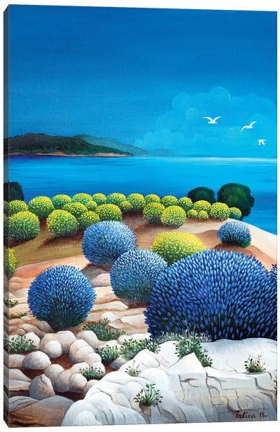 Immortelle And Lavander Canvas Art Print