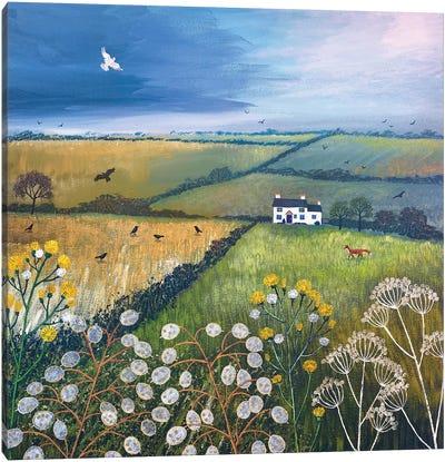 September Fields Canvas Art Print