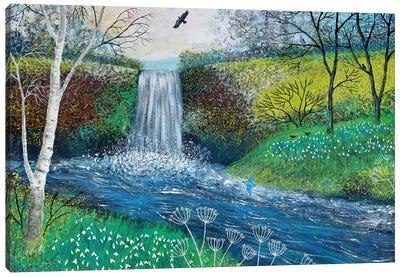 Snowdrop Falls Canvas Print #JOG14