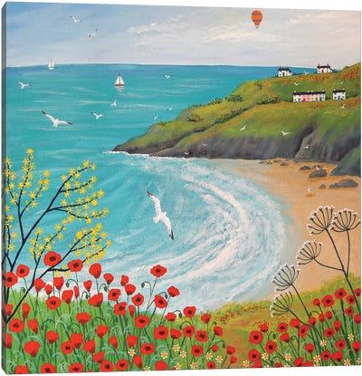 The Path To Poppy Bay Canvas Print #JOG16