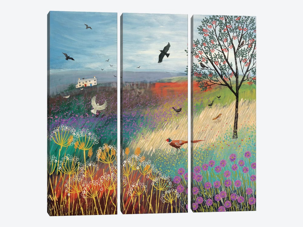 The Rowan Tree by Jo Grundy 3-piece Art Print