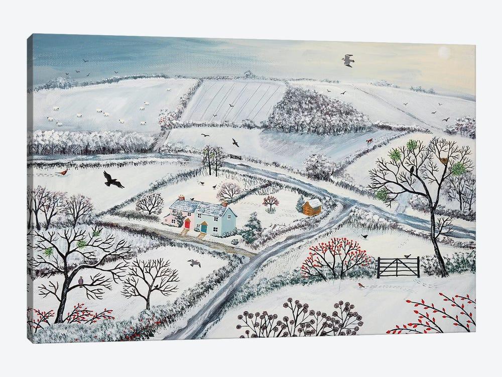 Winter Hills by Jo Grundy 1-piece Canvas Art Print