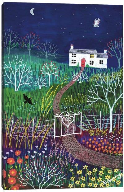 Moonlight Garden Canvas Art Print