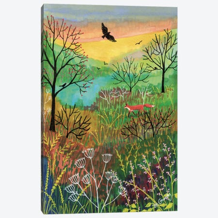 Off The Beaten Track Canvas Print #JOG26} by Jo Grundy Canvas Artwork