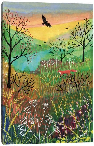 Off The Beaten Track Canvas Art Print