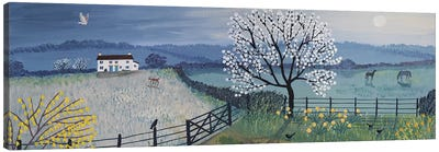 Spring Moon Canvas Art Print