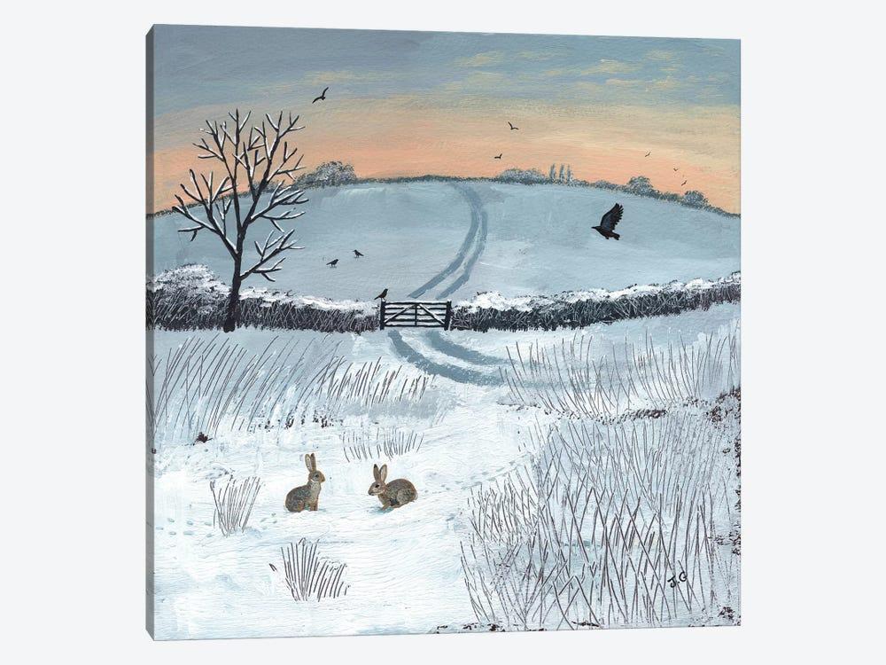 Winter Dawn by Jo Grundy 1-piece Canvas Print