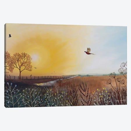 Autumn Glow Canvas Print #JOG36} by Jo Grundy Canvas Print