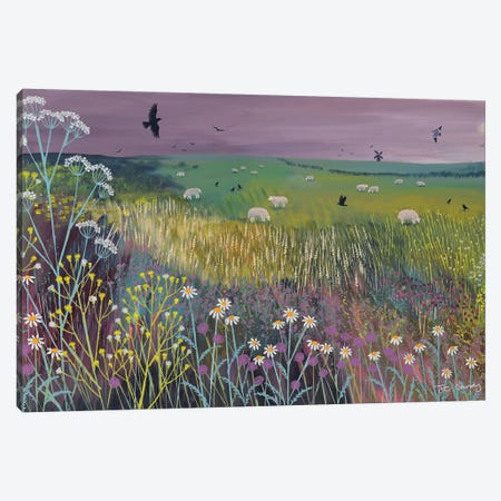 Meadow Breeze Canvas Print #JOG37} by Jo Grundy Canvas Print