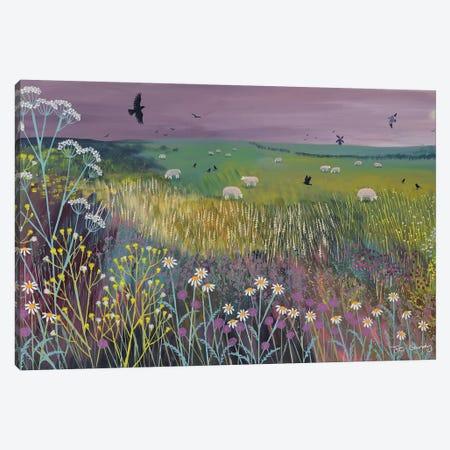 Meadow Breeze 3-Piece Canvas #JOG37} by Jo Grundy Canvas Print